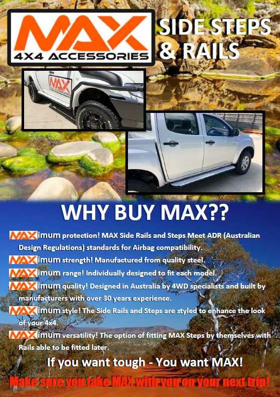 MAX 4×4 Accessories | Equipit Group